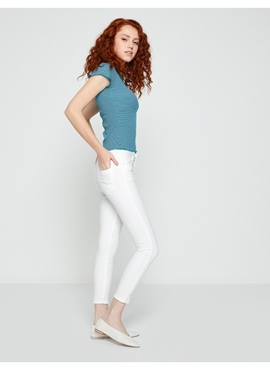 Slim Fit Pantolon-Koton